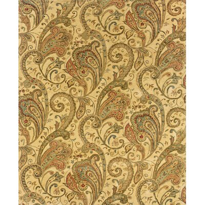 Lanesborough Hand-Tufted Beige/Gold Area Rug Rug Size: 83 x 113