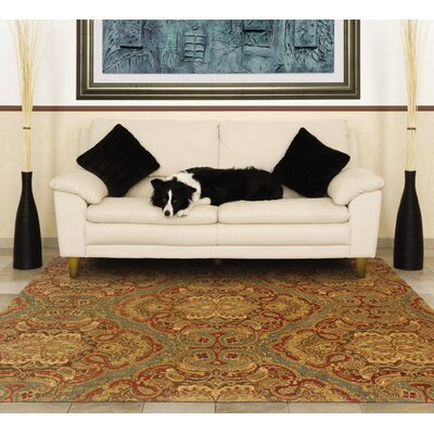 Lanesborough Hand-Tufted Blue/Grown Area Rug Rug Size: Rectangle 93 x 133