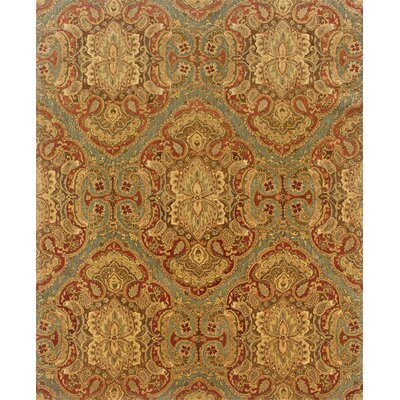 Lanesborough Hand-Tufted Blue/Grown Area Rug Rug Size: 53 x 83