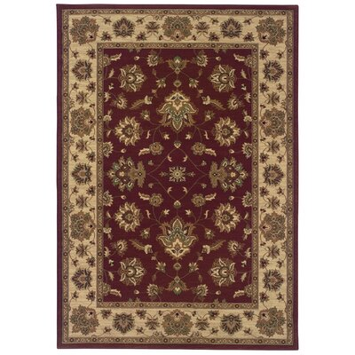 Shelburne Red/Ivory Area Rug