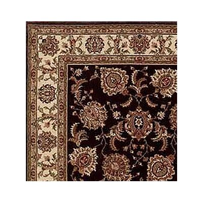 Shelburne Brown/Ivory Area Rug Rug Size: Square 8