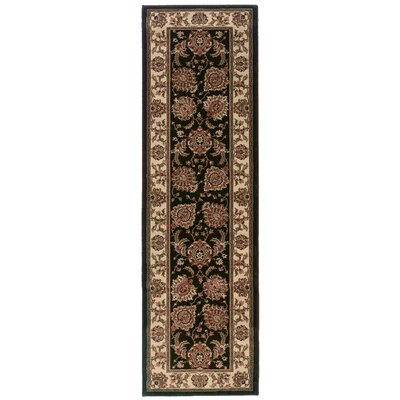 Shelburne Brown/Ivory Area Rug Rug Size: Runner 23 x 79