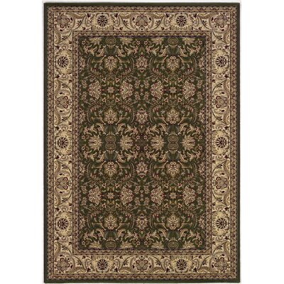 Copacabana Brown/Gray Area Rug Rug Size: 53 x 76