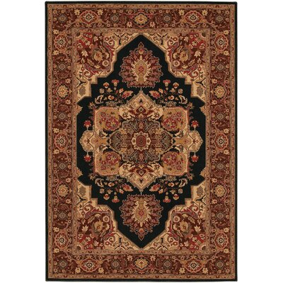 Cipriani Red/Beige Area Rug Rug Size: Rectangle 710 x 112