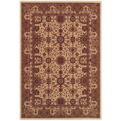 Copacabana Antique Cream Rug Rug Size: Rectangle 92 x 126