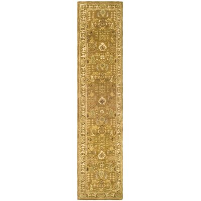 Carnasheeran Beige/Gold Tree of Life Rug Rug Size: Runner 23 x 10