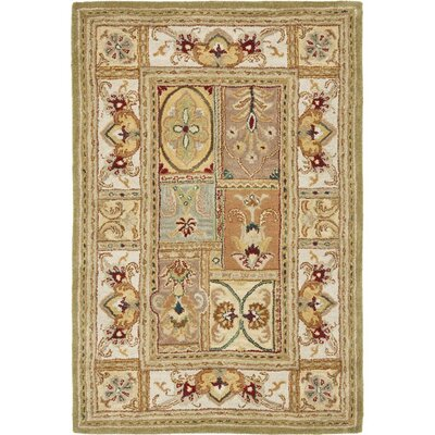Carnasheeran Sage Area Rug Rug Size: Rectangle 4 x 6