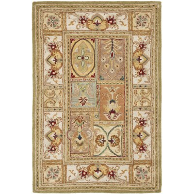 Carnasheeran Sage Area Rug Rug Size: Rectangle 76 x 96