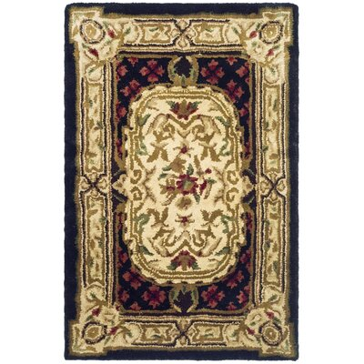 Carnasheeran Gold / Black Area Rug