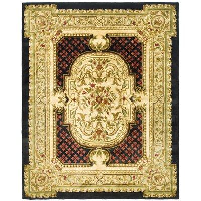 Carnasheeran Gold / Black Area Rug Rug Size: 83 x 11