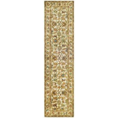 Carnasheeran Gold / Ivory Area Rug Rug Size: 2'3