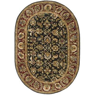 Carnasheeran Rug Rug Size: Oval 46 x 66