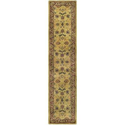 Carnasheeran Gold/Red Rug Rug Size: 23 x 4