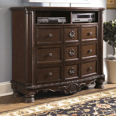 Chapell 6 Drawer Media Chest