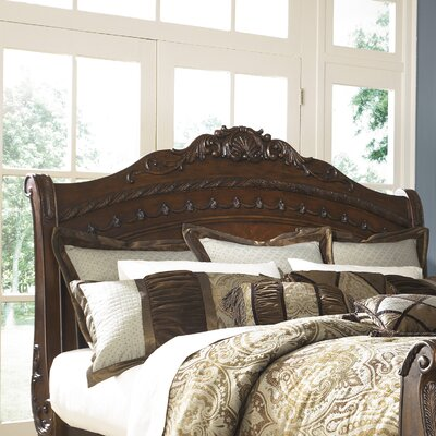 Chapell Panel Headboard Size: King
