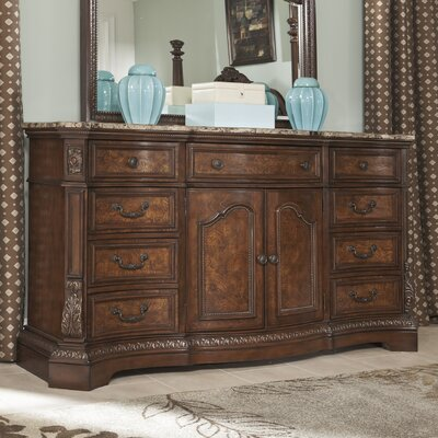 Carnearney 9 Drawer Combo Dresser