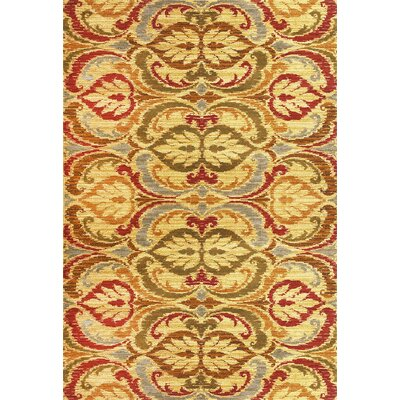 Ikin Gold Firenze Area Rug Rug Size: Rectangle 710 x 910