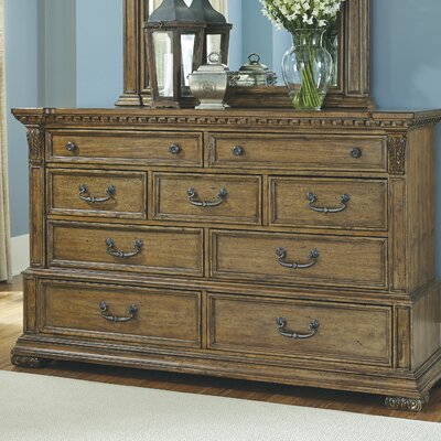 Athens 9 Drawer Dresser