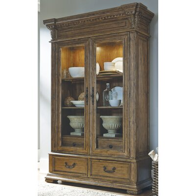 Athens Lighted China Cabinet