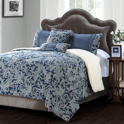 Vancouver 5 Piece Comforter Set Size: Queen
