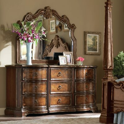 Dolley 9 Drawer Dresser