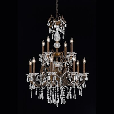 Donat 12-Light Crystal Chandelier