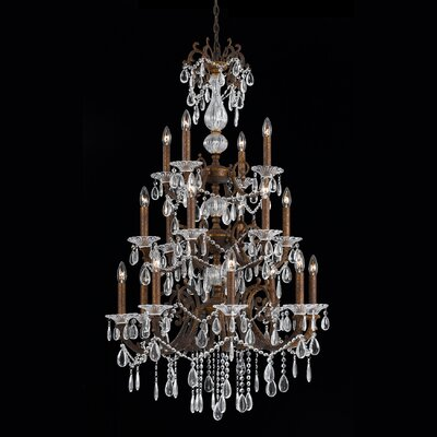 Donat 18-Light Crystal Chandelier
