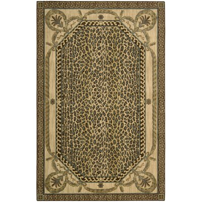 Weldon Beige Area Rug Rug Size: Rectangle 36 x 56