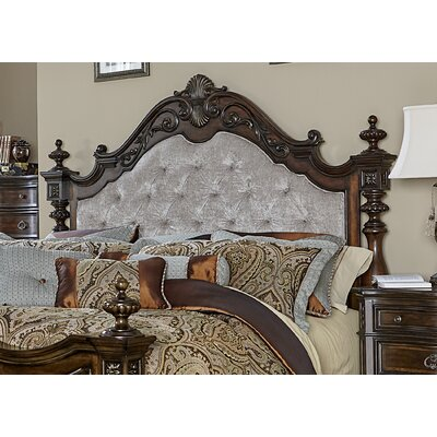 Donnington Upholstered Panel Headboard Size: King