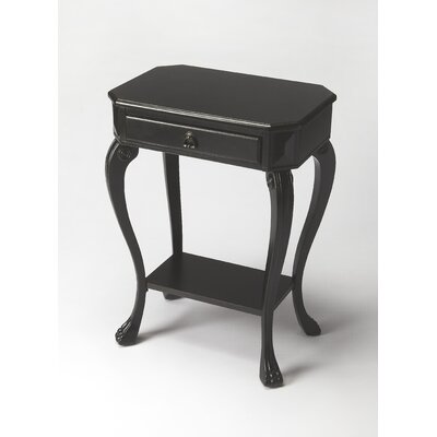 Copley Channing Console Table Finish: Black Licorice
