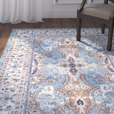 Duckett Light Blue Area Rug