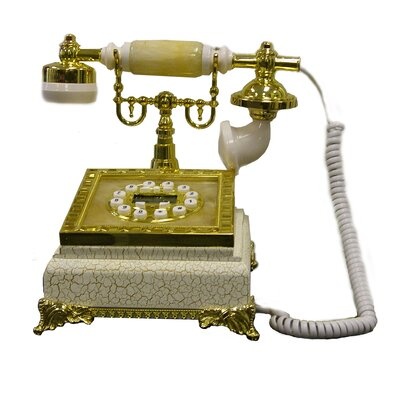 Metal Corded Telephone