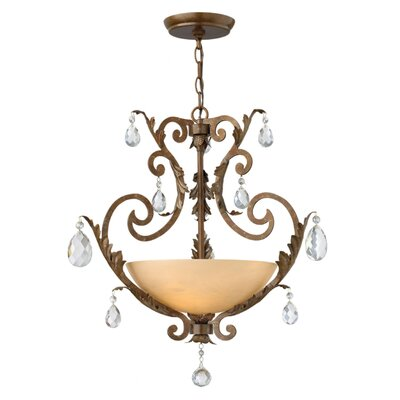 Kala 3-Light Mini Chandelier