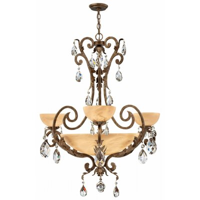 Kala 3-Light Shaded Chandelier