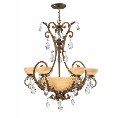Kala 6-Light Shaded Chandelier