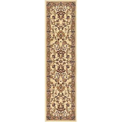 Concord Ivory Indoor Area Rug Rug Size: Runner 22 x 82