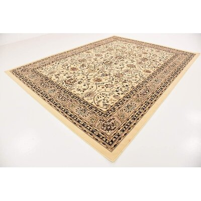 Concord Ivory Indoor Area Rug Rug Size: 9 x 12