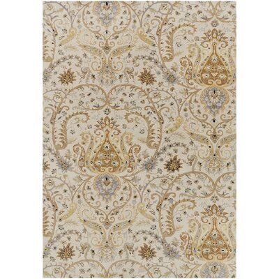 Gant Hand-Tufted Gray Area Rug Rug Size: Rectangle 9 x 13