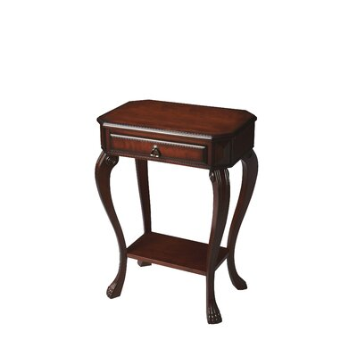 Copley Channing Console Table Finish: Cherry