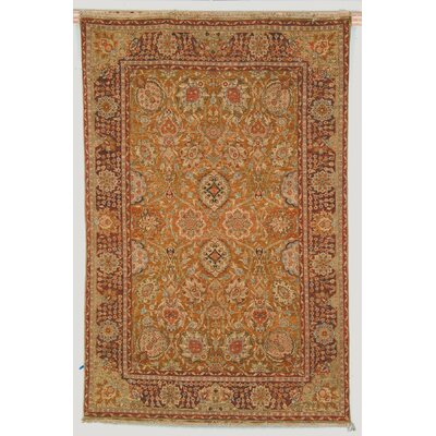 Belfield Laristan Brown Area Rug Rug Size: Round 4