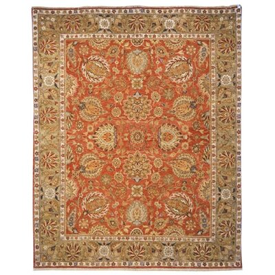 Belfield Kashan Copper Rug Rug Size: 4 x 6