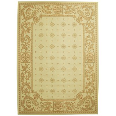 Carsen Natural/Terra Outdoor Area Rug Rug Size: 7'10