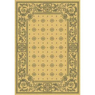 Carsen Natural/Brown Outdoor Rug Rug Size: Rectangle 710 x 11