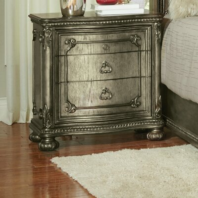 Liola 3 Drawer Nightstand