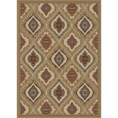 Amanda Brown Area Rug Rug Size: 5 x 8