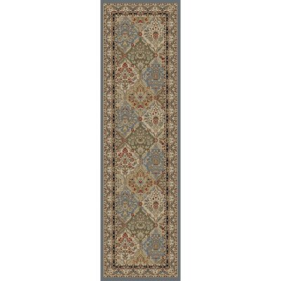 Berniece Gray Area Rug Rug Size: Runner 2 x 8