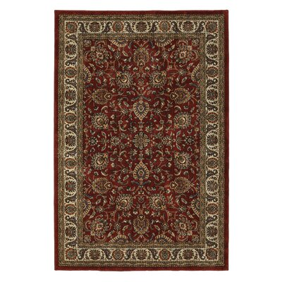 Wade Cinnamon Red Area Rug Rug Size: 5 x 8