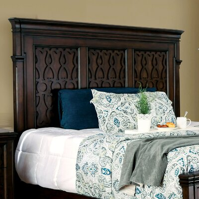 Hepscott Panel Headboard Size: King