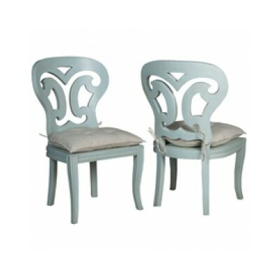 Britta Manor Solid Wood Dining Chair Color: Sage