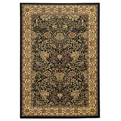 Ardella Black Area Rug Rug Size: Rectangle 8 x 10